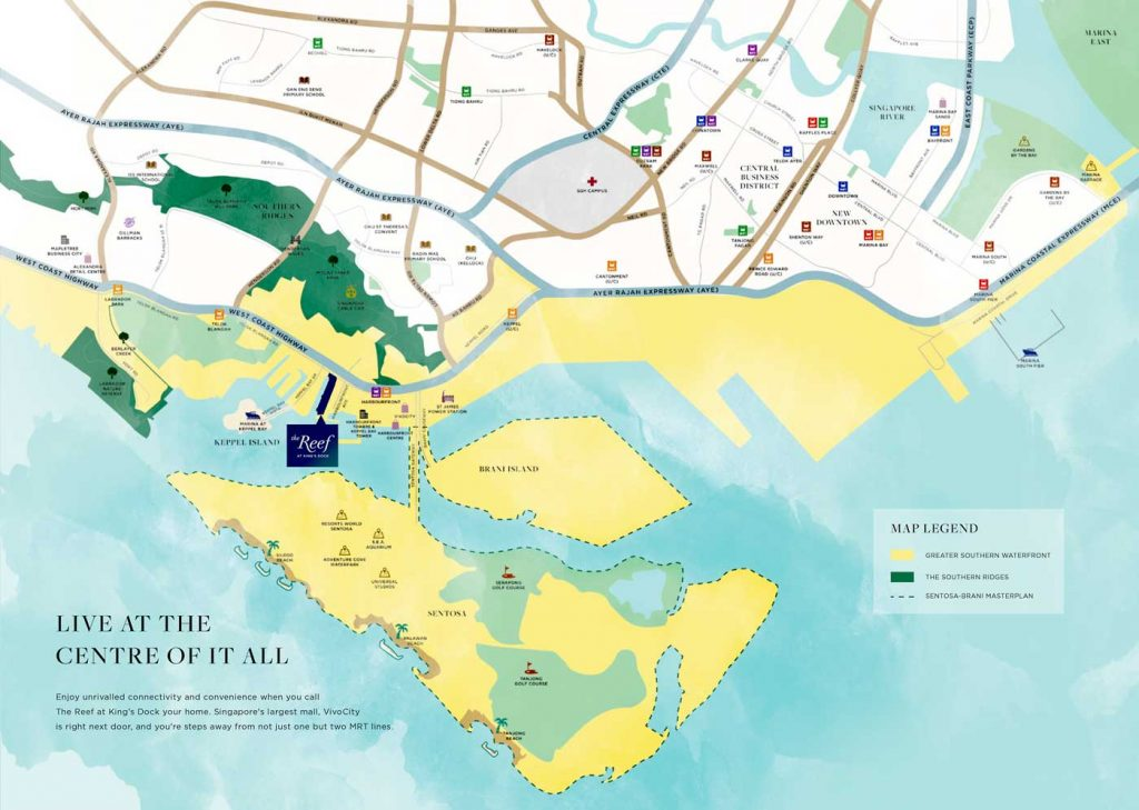 the-reef-at-kings-dock-location-map