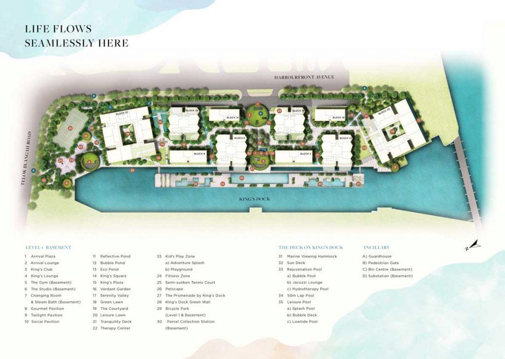 the-reef-at-kings-dock-site-plan